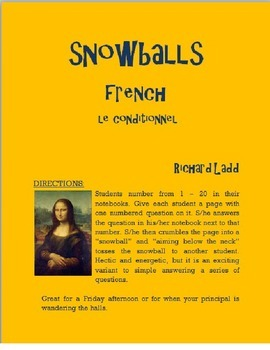 Conditional Snowballs FRENCH