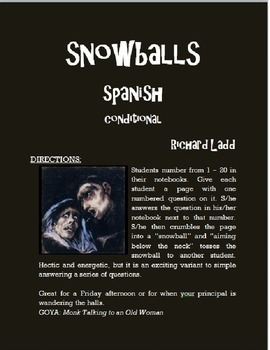 Conditional Snowballs SPANISH