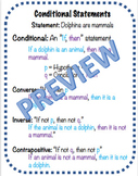 Conditional Statement Notes Cheat Sheet