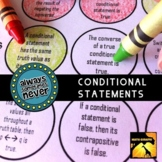 Conditional Statements: Always, Sometimes, or Never