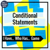 Conditional Statements I Have, Who Has Game