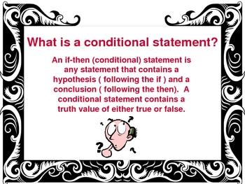 Conditional Statements PowerPoint Presentation