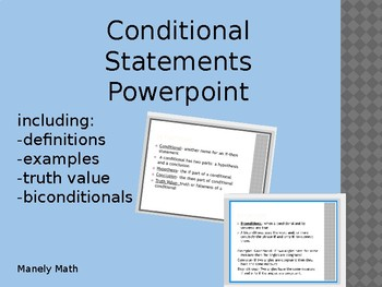 Conditional Statements Powerpoint