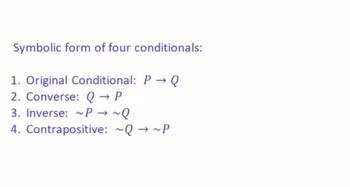 Conditional Statements and Forms of a Conditional Statement (SCORM)
