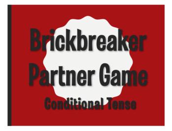 Spanish Conditional Tense Brickbreaker Partner Game