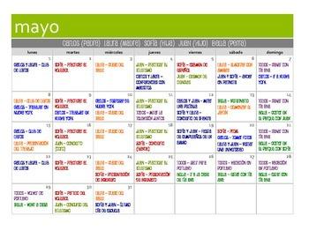 Spanish Conditional Tense Calendar Activity