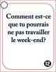 Conditional Tense French Speaking Task Cards
