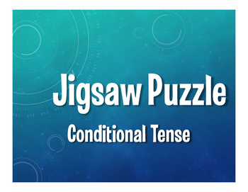 Spanish Conditional Tense Jigsaw Puzzle
