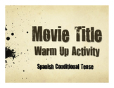 Spanish Conditional Tense Movie Titles