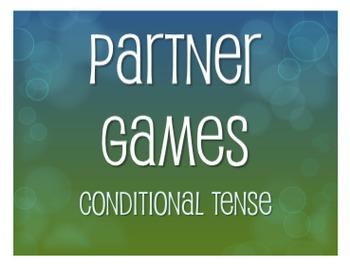 Spanish Conditional Tense Partner Games