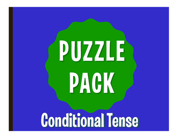 Spanish Conditional Tense Puzzle Pack