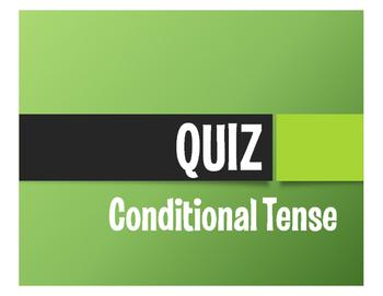 Spanish Conditional Tense Quiz