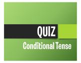 Spanish Conditional Tense Quiz