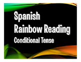 Spanish Conditional Tense Rainbow Reading