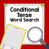 Spanish Conditional Tense Word Search Worksheet Fun Exercise