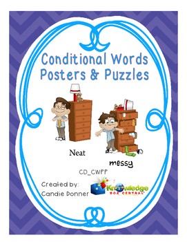 Conditional Words Posters & Puzzles