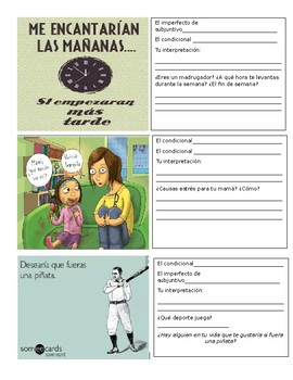 Conditional and Imperfect Subjunctive (If clauses) Meme and Comic Activity