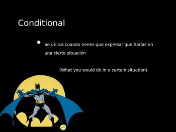 Conditional tense powerpoint (lecture)