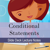 Conditionals Lecture Slide Deck: Distance Learning