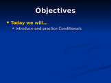 Conditionals PowerPoint for ESL