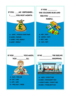 Conditionals Type 0 and Type 1