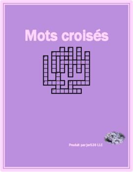 Conditionnel présent French Verbs Crossword
