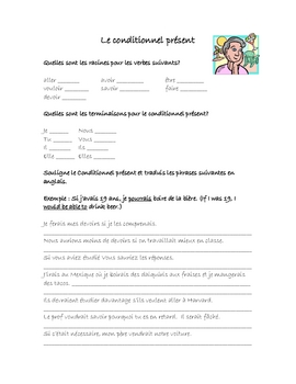 Conditionnel Present Worksheets