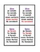 Conditionnel irrégulier (French Verbs) Conditional Jeu des Sept Familles