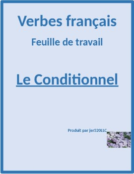 Conditionnel présent in French worksheet 3