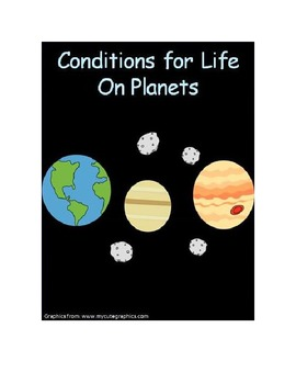 Conditions for Life on Planets