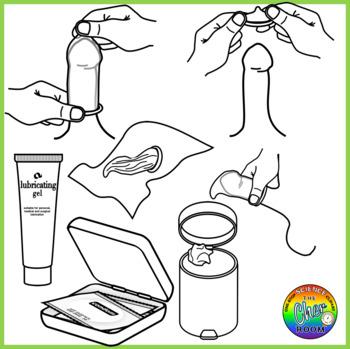 Condom Clipart (Sexual Education)