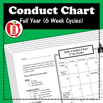 Conduct Calendar (Full Year)