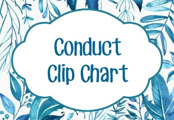 Conduct Clip Chart
