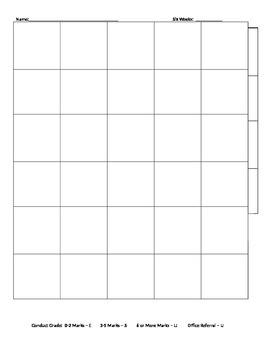 Conduct Sheet Calendar
