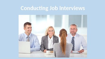 Conducting Job Interviews