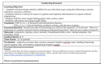Conducting Research with Google