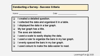 Conducting a Survey, Data Management