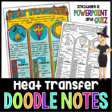 HEAT TRANSFER SCIENCE DOODLE NOTES, INTERACTIVE NOTEBOOK,