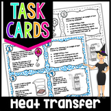 Heat Transfer Conduction Convection Radiation Task Cards | Science Task Cards