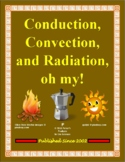 Conduction, Convection, & Radiation Classification Activity for Physical Science