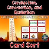 Conduction, Convection, and Radiation Card Sort - Heat Transfer