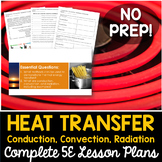 Conduction, Convection, & Radiation Complete 5E Lesson Plan - Distance Learning
