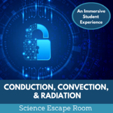 Conduction Convection and Radiation Escape Room