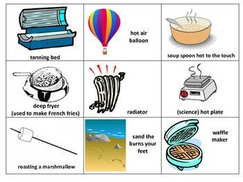 Conduction, Convection and Radiation Picture Sort
