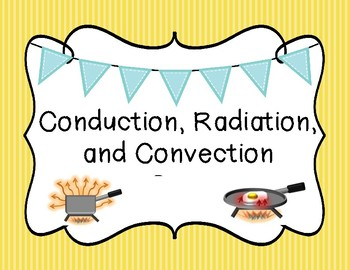Conduction, Convection, and Radiation Sort