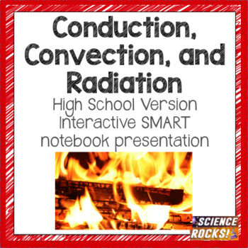 Conduction, convection, radiation SMART presentation (High School version)