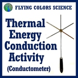 Thermal Energy Heat Conduction Activity Worksheet MS-PS3-3 MS-PS3-4 MS-PS3-6