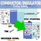 Conductor Insulator Card Sort – Digital Interactive Notebo