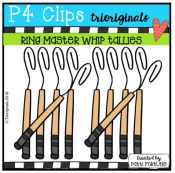Conductor Whip Tallies (P4 Clips Triorignals)