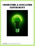 Conductor and Insulator Experiment Lesson Plan